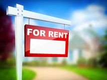 For Rent Royalty Free Stock Image