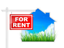 For Rent Royalty Free Stock Photos