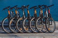 Rent-able cykel Arkivbild