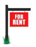 For rent banner Royalty Free Stock Image