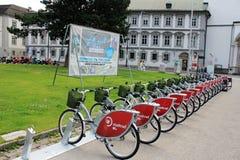 Rent a bike - eco option Stock Image