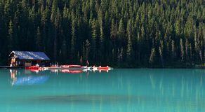 Lake Louise, Banff National Park Royalty Free Stock Photography