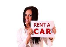 Rent a car Stock Images