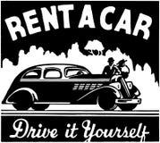 Rent A Car Stock Photo