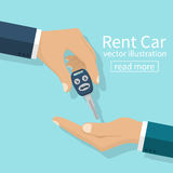 Rent car, concept. Stock Images