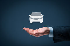 Rent a car Royalty Free Stock Image