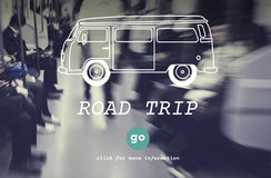 Rent A Car Road Trip Travel Destination Concept Royalty Free Stock Photo