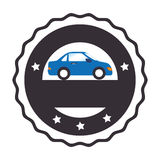 Rent a car service icon Stock Photo