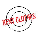 Rent Clothes rubber stamp Royalty Free Stock Photos