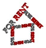 Rent house stock illustration