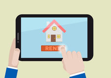 Rent a house Stock Image