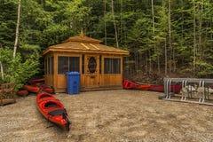 Rent a Kayaks Royalty Free Stock Image