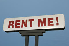 Rent Me! Stock Photography