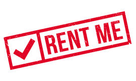 Rent Me rubber stamp Stock Images
