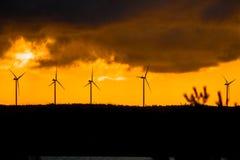 Rent miljövänligt, energi royaltyfria bilder