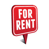 For rent pointer Stock Photo