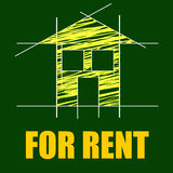 For Rent Represents Detail Architecture And Housing Stock Photo