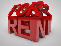 For Rent Stock Photography