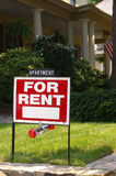 For rent sign royalty free stock photos
