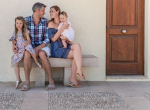 Rent summer apartement family with kids. Holiday flat in the warm south Stock Photo