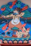 rent tempel för datsan land för dekorelementivolginsk Arkivbilder