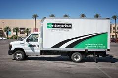 Rent a truck Stock Photos