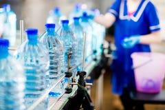 rent vatten för flaska Arkivfoton