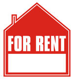 For rent + vector file Stock Photo