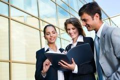 Rentable Geschäftsvereinbarung Stockfoto