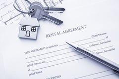Rental Agreement Stock Image