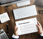 Rental Agreement Assets Business Concept Stock Images