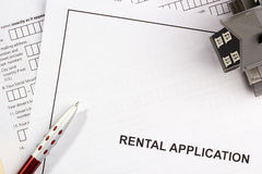 Rental Application Royalty Free Stock Image