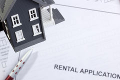 Rental Application Stock Photos