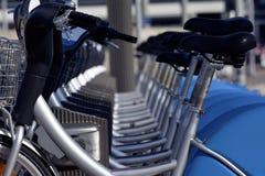 Rental bicycle Stock Photo