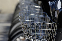 Rental bicycle Royalty Free Stock Photos