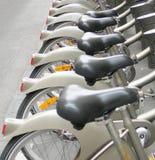 Rental bicycles Paris France Royalty Free Stock Photo