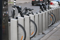 rental bike Стоковое Фото