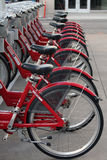 Rental Bikes Royalty Free Stock Photography