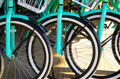 Rental bikes Royalty Free Stock Images