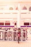 Rental bikes Royalty Free Stock Images