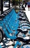 Rental Bikes Stock Photos
