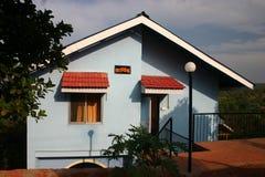 Rental house at Dapoli, India. Rental home at Dapoli, India, on the Konkan coast of Maharashtra on a warm sunny day in December stock images