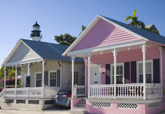 Rental houses in Key West, Florida Stock Photo