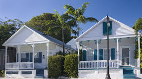 Rental houses in Key West, Florida Royalty Free Stock Photos