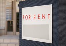 Rental Real Estate Sign Royalty Free Stock Photos