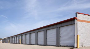Rental Storage Units Stock Images