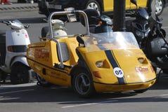 Rental tourist car. Barcelona. Spain Stock Photos