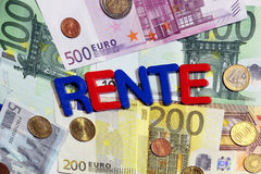 Rente Stock Images