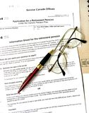 Rentenbezug Lizenzfreie Stockbilder