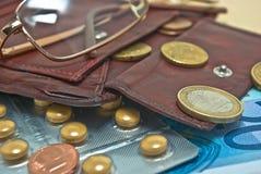 Rentenbezug stockfotos